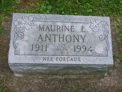 Maurine E. <I>Forcade</I> Anthony
