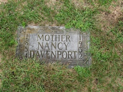Nancy Elizabeth <I>Allen</I> Davenport