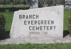 Branch Evergreen Cemetery