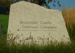 Broomfield County Commons Cemetery