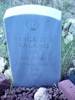 PFC Vincent Felix Balanis