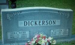Lura <I>Webb</I> Dickerson
