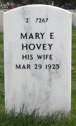 Mary E Hovey