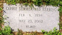 Carrie <I>Summerford</I> Herring