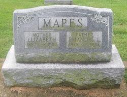 Elizabeth Sarah <I>Richardson</I> Mapes