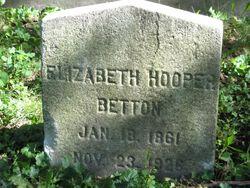 Elizabeth <I>Hooper</I> Betton