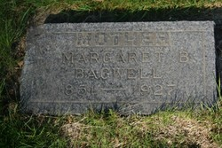 """Margaret """"Maggie"""" <I>Brownleigh</I> Bagwell"""