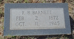 "Lorenzo Dow ""R B"" Barnett"