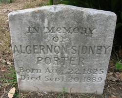 Dr Algernon Sidney Porter
