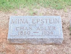 Mina <I>Epstein</I> Adler