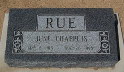June Lucille <I>Chappuis</I> Rue