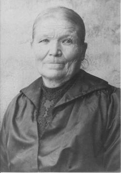 "Maria Katharina ""Puetsch's Marie"" <I>Berg</I> Weiler"