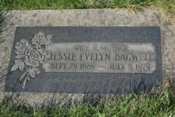 Jessie Evelyn <I>Morse</I> Bagwell