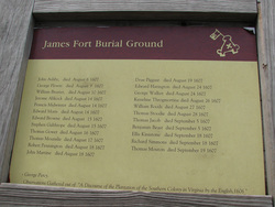 James Fort Burial Ground