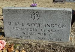 Silas E Worthington