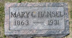 """Mary Catherine """"Sissy"""" <I>Harbaugh</I> Hansel"""