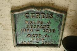 Maud J Curtis