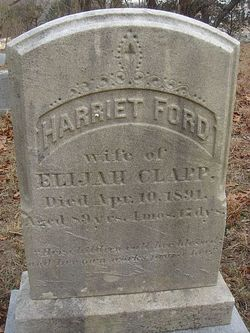 Harriet <I>Ford</I> Clapp