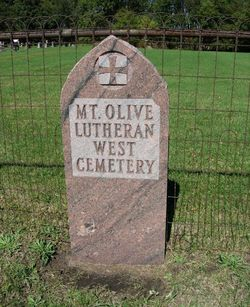 Mount Olive Lutheran West Cemetery
