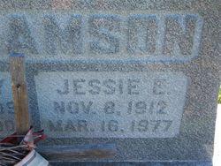 Jessie Evelyn <I>Adams</I> Williamson