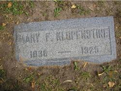 Mary Francis <I>Hunt</I> Klopenstine
