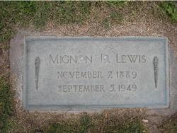 Mignon <I>Denhalter</I> Lewis