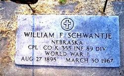 William Frederick Schwantje