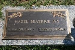 Hazel B. <I>Tanksley</I> Ivy