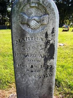 Martha Ellen <I>Fisher</I> Amick