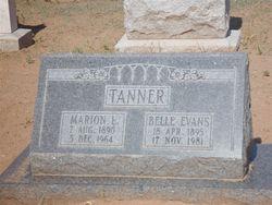 Willie Belle <I>Evans</I> Tanner