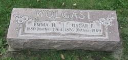Emma H <I>Seidelmann</I> Wolgast
