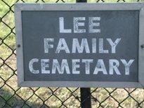 Lee Family Cemetery
