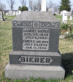 Emily <I>Boice</I> Bierer