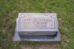 """Mary Catherine """"Callie"""" <I>Schrimpshire</I> Moseley"""