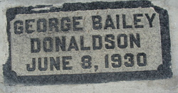 George Bailey Donaldson