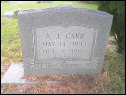 A. J. Carr