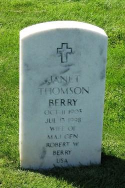 Janet Thomson Berry