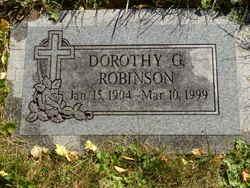 Dorothy G Robinson