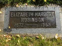 Elizabeth Florence <I>Harbert</I> Robinson