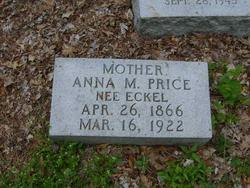 Anna Marie <I>Eckel</I> Price