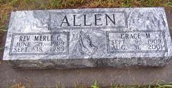 Rev Merle Glen Allen