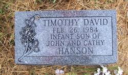 Timothy David Hanson