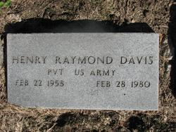 Pvt Henry Raymond Davis