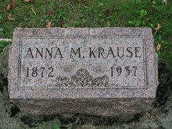 Anna M <I>Lingner</I> Krause