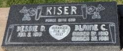 Blaine Claude Kiser