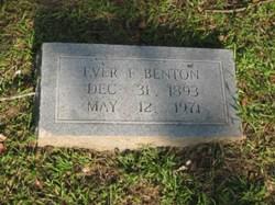 Ever Gertrude <I>Faust</I> Benton