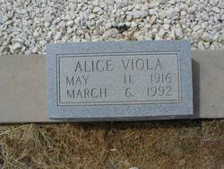 Alice Viola Allison