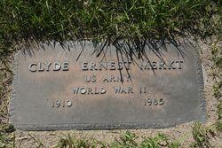 Pvt Clyde Ernest Merkt