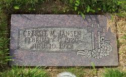 Cressie M. Jansen