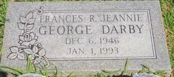 "Francies R. ""Jeannie"" <I>George</I> Darby"